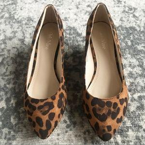 🆕 Bella Marie Leopard Suede Pumps